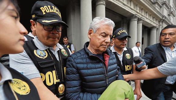 Villanueva negó haber recibido coimas, pero los testimonios lo contradicen. (GEC)