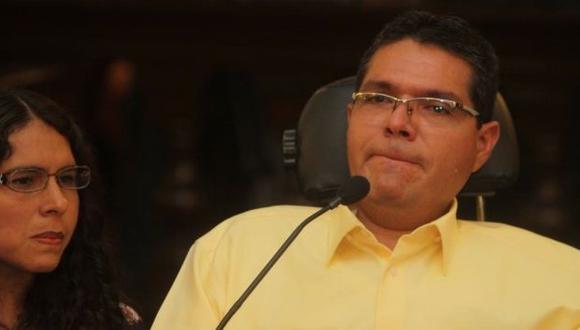 Michael Urtecho se quebró en pleno juicio. (Martín Herres/Difusión)