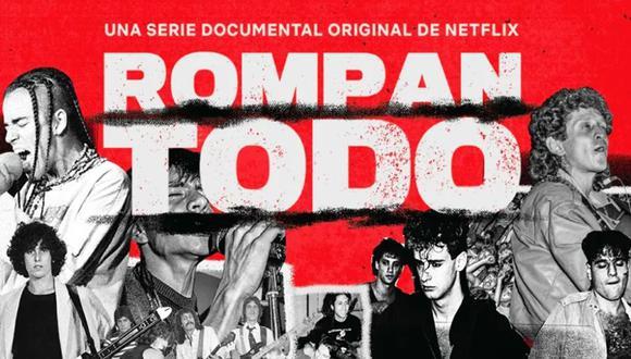 """Rompan todo"" de Netflix refleja la identidad del rock en Latinoamérica. (Foto: Netflix)"