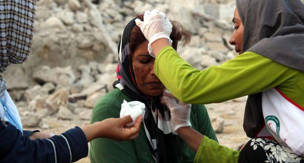 Al menos 37 personas murieron y 850 resultaron heridas. (EFE)