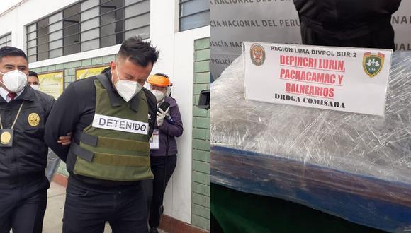 'Pedrito' cayó en su departamento. (PNP)