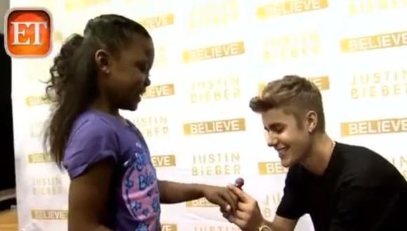 Justin cumplió el sueño de una de sus fanáticas. (Captura de video)