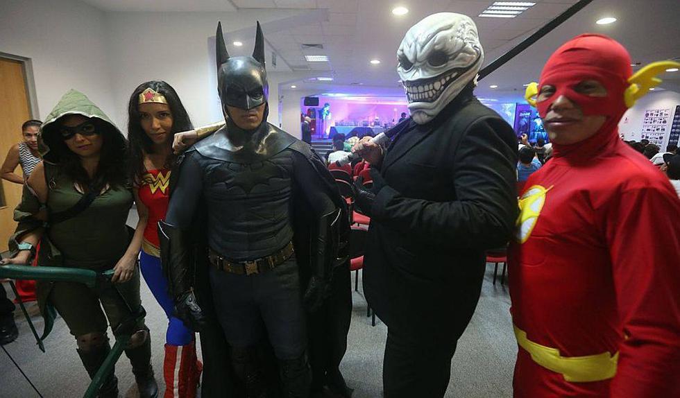 'Batman v. Superman': Convención organizada por Perú21 se celebrará hasta las 9pm. de este sábado. (Luis Centurion)