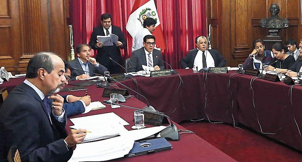 Congreso: Buscan cambio en comisión de Ética. (USI)