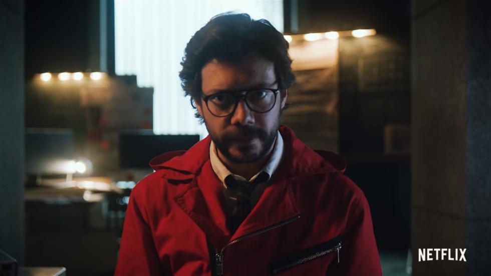 """""""La casa de papel"""": Netflix comparte teaser y el Profesor explica la trama (Foto: Captura de pantalla)"""