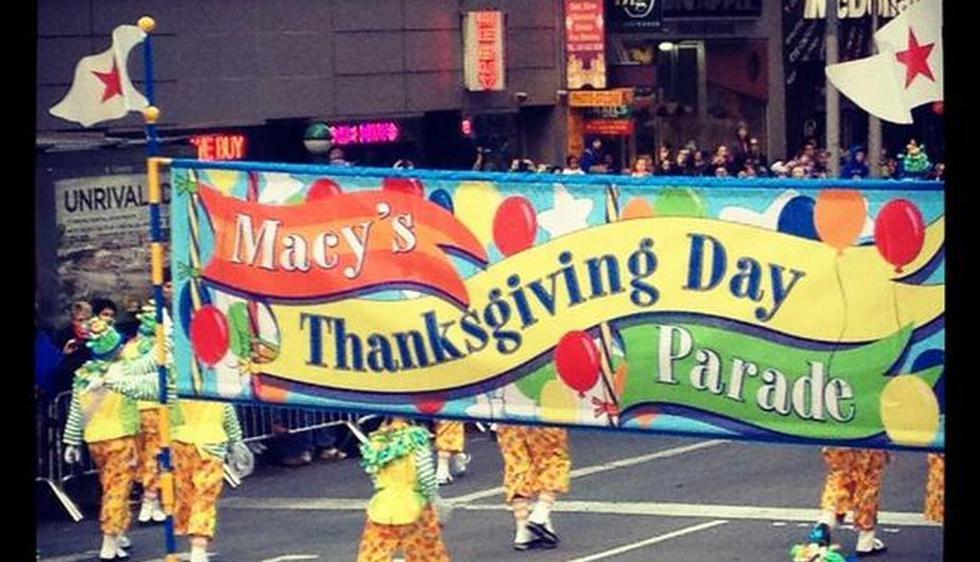 Además de la cena por Día de Acción de Gracias, el Macy\'s Parade es otra tradición en este fecha. Foto: @adriannabarr