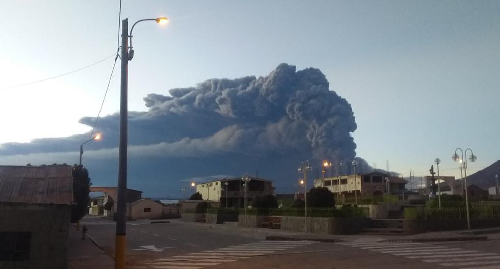 Esta madrugada, se reportó una explosión que afecta a la población de varios distritos. (Foto: @igp_peru)