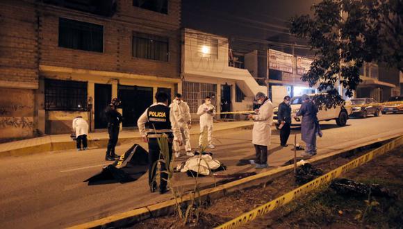 El joven barrista murió en el acto. (Foto: César Grados/@photo.gec)