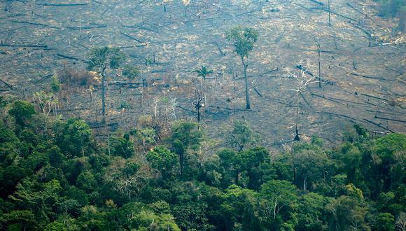 El fuego se extinguió en el Parque Nacional Campo Ferruginoso, al sur del estado de Pará. Primer logro del combate contra los incendios que afectan la Amazonía. (Foto referencial: AFP)