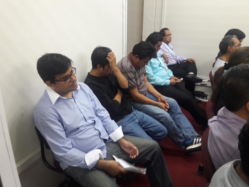 Fueron tres días de audiencia para el caso 'Los Corruptos de la UGEL Paita'.
