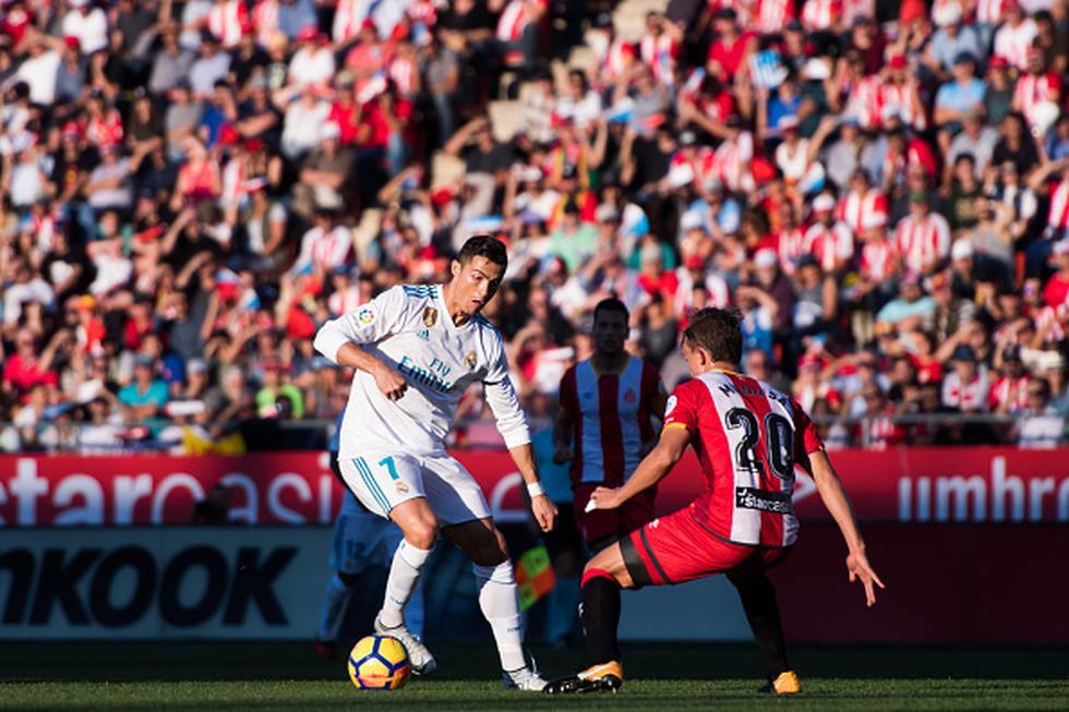 Real Madrid espera vencer al Girona en casa y recuperar el tercer puesto de la tabla de LaLiga. (GETTY IMAGES)