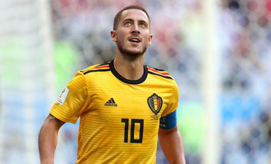 Eden Hazard anotó tres en el Mundial Rusia 2018 (Foto: Getty Images).