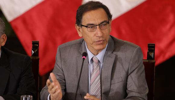 El presidente Martín Vizcarra expresó su agradecimiento al gobierno de Uruguay por valorar la posición peruana ante el pedido de asilo de Alan García. (Foto: GEC)
