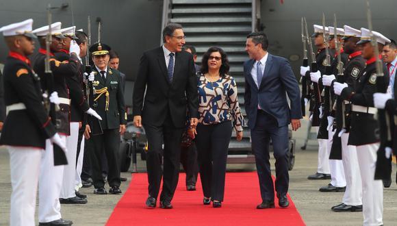 Vizcarra permanecerá en el país centroamericano hasta el día de mañana. (Foto: Presidencia)