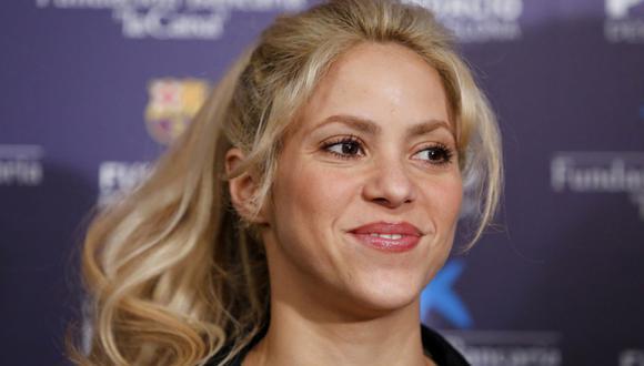 Shakira y la ingeniosa forma en la que muestra su apoyo a Gerard Pique. (Foto: AFP)