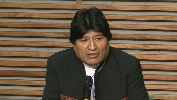 Evo Morales, ofreció una conferencia en Buenos Aires, luego de ser inhabilitado de postular como senador en Bolivia. (Video: AFP)