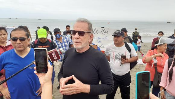 Ricardo Belmont invocó a que las personas vayan a la playa y criticó medidas contra el COVID-19 dictadas por el Gobierno (Lino Chipana/GEC).
