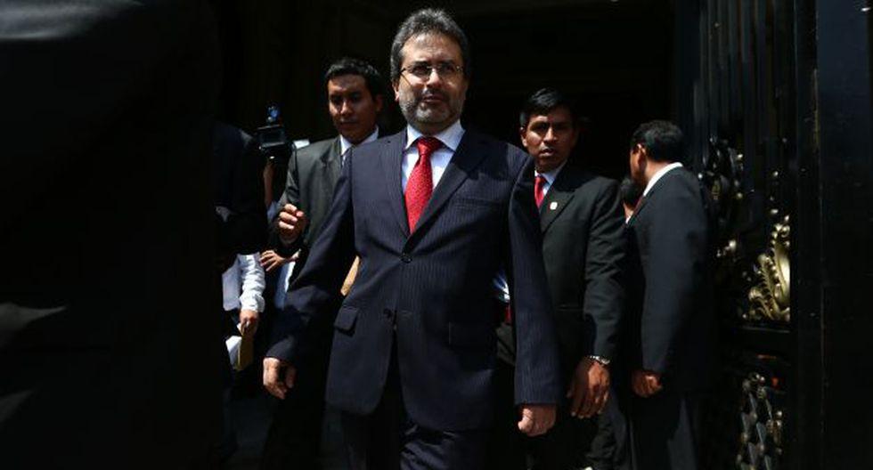 objetivo político. Jiménez trata de reducir los cuestionamientos al régimen de Ollanta Humala. (Rafael Cornejo)