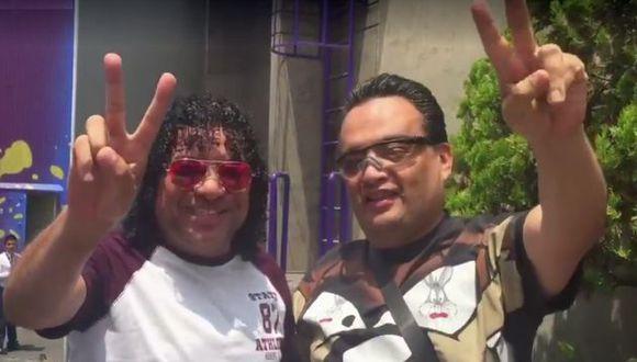 Carlos Vilchez y Jorge Benavides