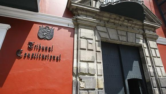 Tribunal Constitucional aclara denuncias. (Mario Zapata)