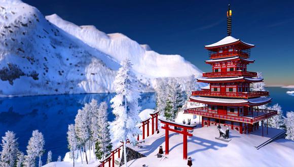 Gracias a esta nueva expansión, podremos practicar y probar nuestras habilidades en deportes alpinos y freestyle en las majestuosas montañas de Japón.
