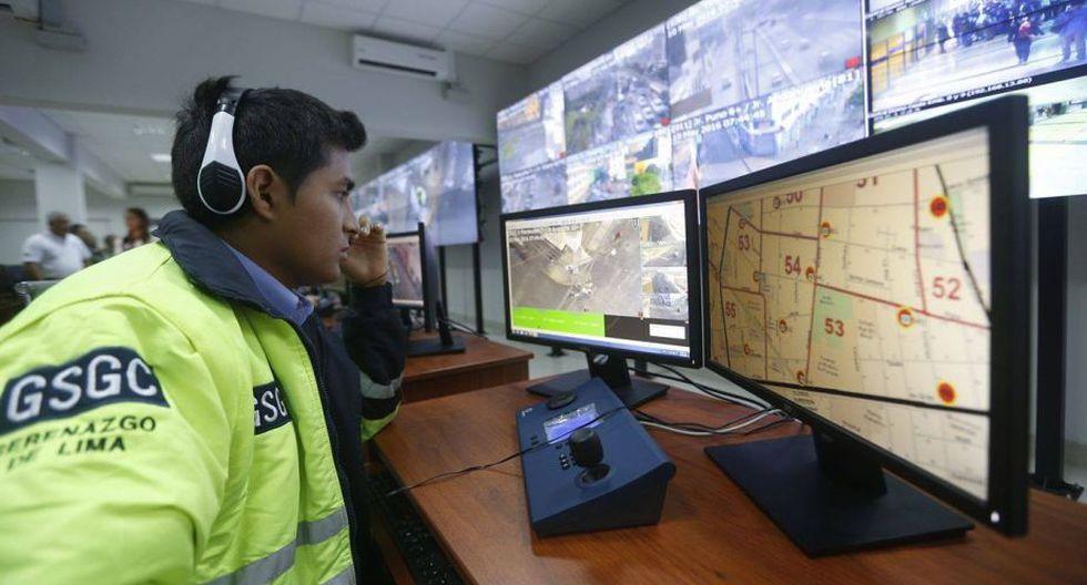Botones de seguridad ayudarán a una acción más rápida del serenazgo. (Renzo Salazar/Perú21)