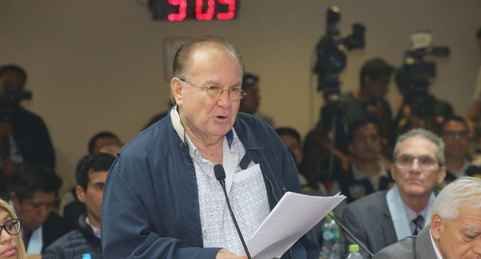Sobre Luis Nava pesa una orden de detención preliminar de diez días. (Poder Judicial)