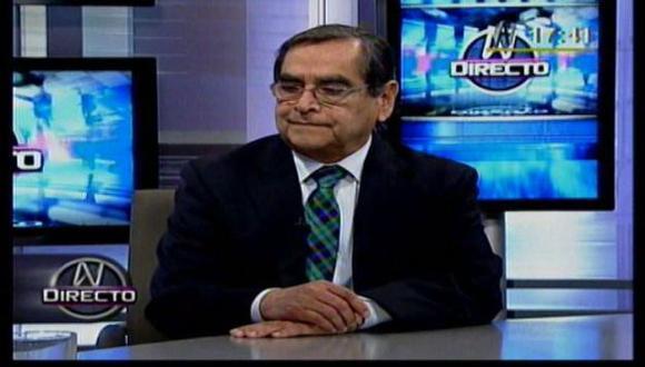 Óscar Ugarte anunció que denunciará a Jesús Bonilla, presidente de la FMP. (Canal N)