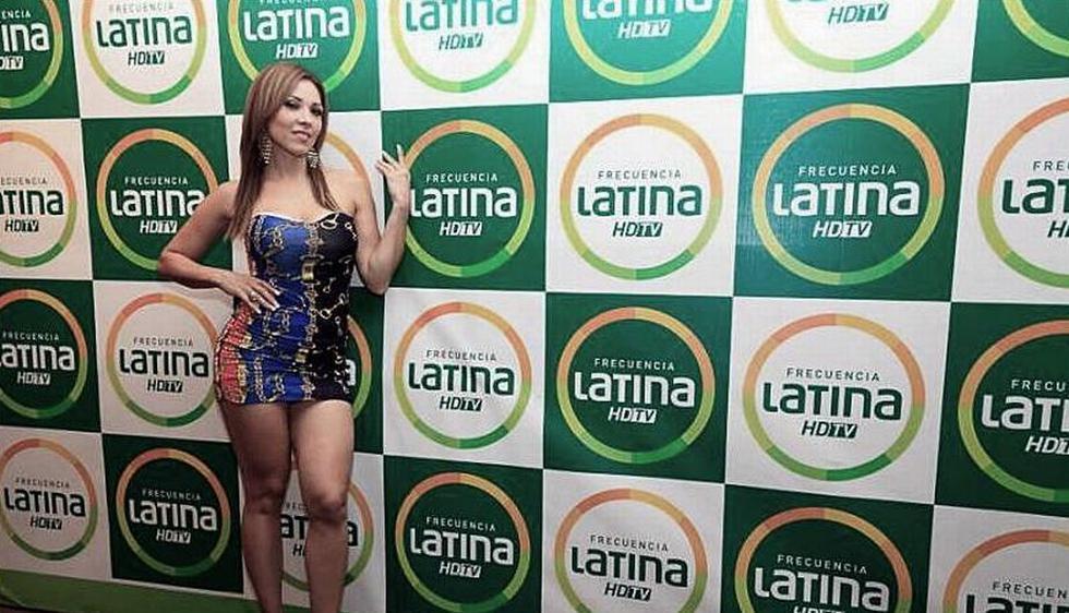 La modelo colombiana trabaja en \'El especial del humor\'. (Facebook de Lucecita)