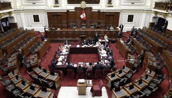 La sesión de la Comisión Permanente concluyó sin pena ni gloria. (Foto: Anthony Niño de Guzmán / GEC)