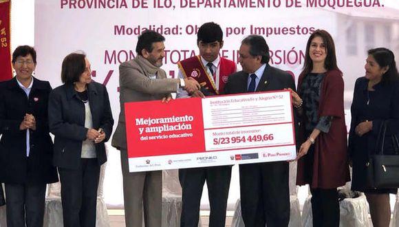 La IE Fe y Alegría N° 52 está ubicada en Ilo, Moquegua. (Foto: Difusión)