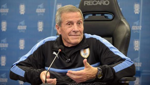 Óscar Washington Tabárez es entrenador de la selección uruguaya desde el 2006. (Foto: AFP)