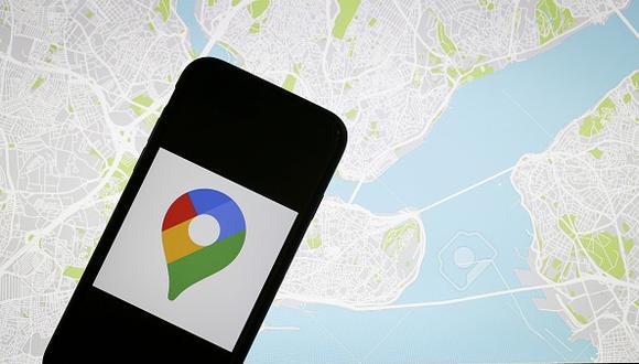 Encuentra todos tus mapas en el menú Tus sitios de Google Maps.