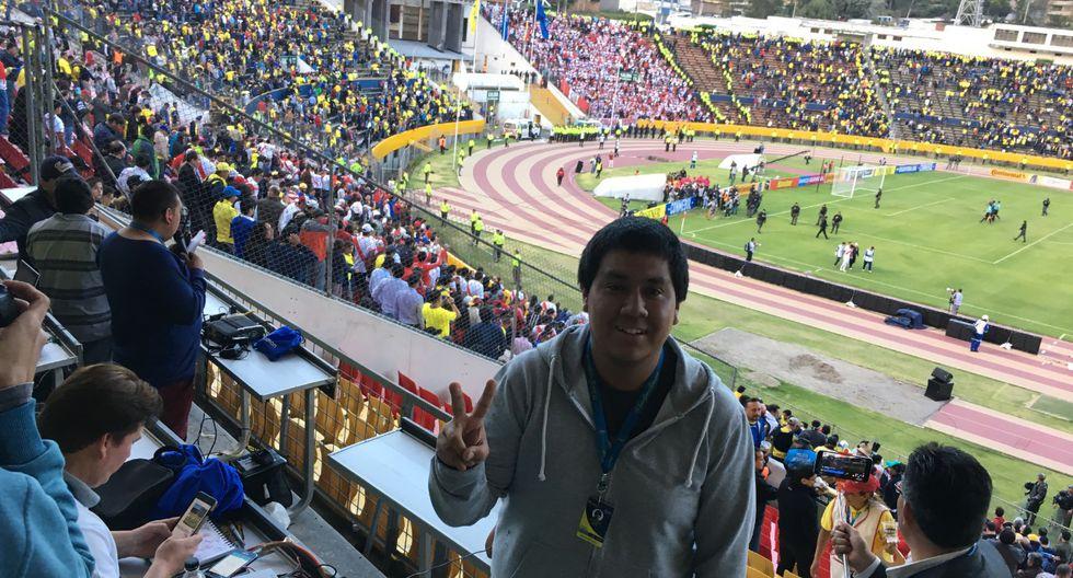 Adrián Cabrejo, jugó en pared con Perú21 para contar los retos por los que pasó su proyecto. (Adrián Cabrejo)