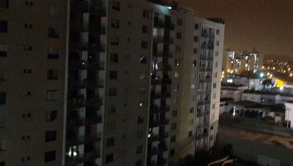 Varias zonas de Lima se vieron afectados por el apagón. (Twitter)