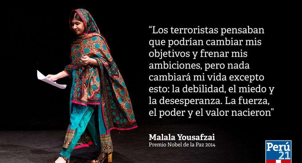 Malala Yousafzai 9 Frases De La Nobel De La Paz Más Joven