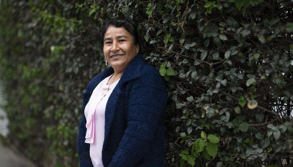 Filomena Pinares es productora de café del Cusco.