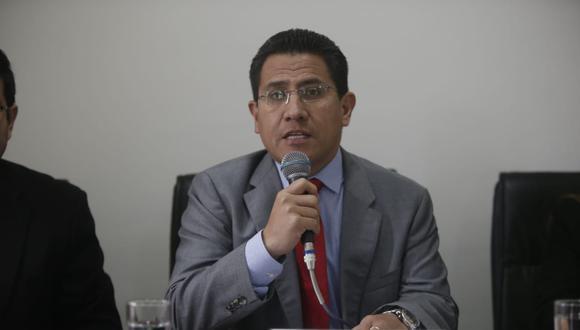 El procurador Amado Enco saludó el trabajo de las autoridades que lograron un pronunciamiento de la Justicia de España en menos de un año sobre César Hinostroza. (Foto: GEC)