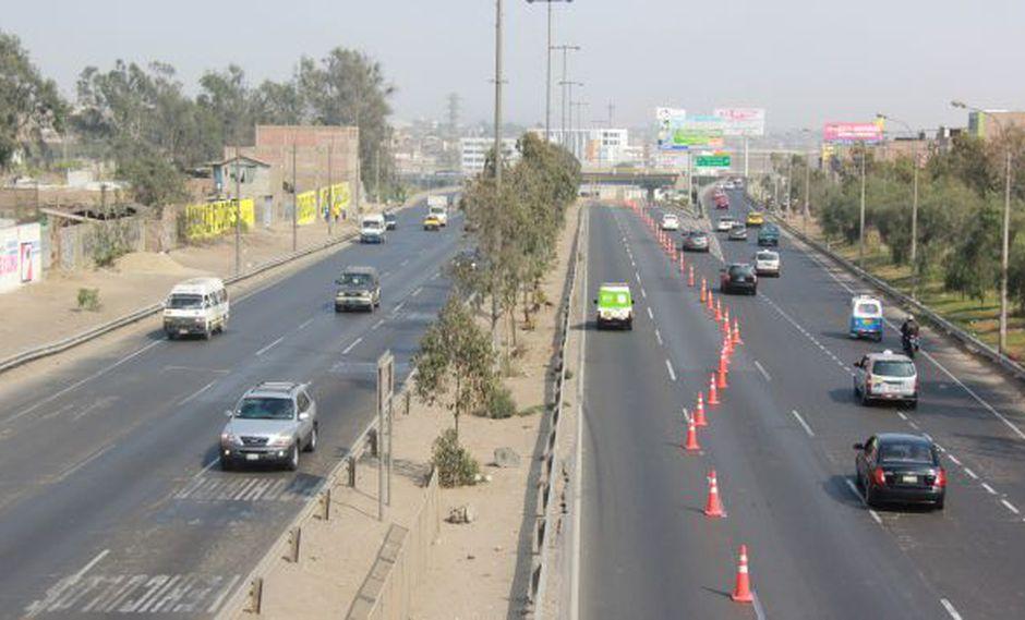 EN ALERTA. La carretera Panamericana Sur es la vía más usada. (Rutas de Lima)