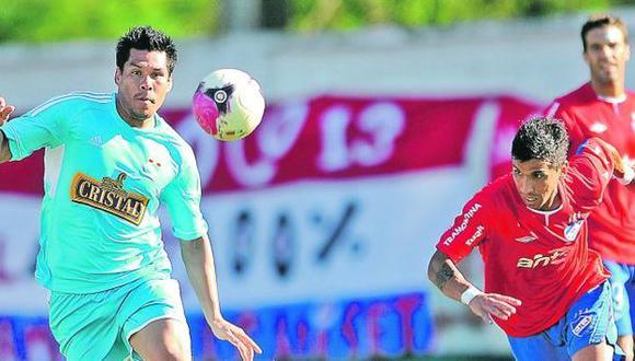 El 'Charapa' Rengifo anotó ante Nacional de Uruguay. (Fernando Gonzales/Depor)