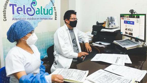 Minsa: Telesalud se refuerza con 396 establecimientos de atención medica virtual (Foto: Minsa)