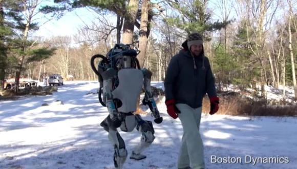El robot Atlas y sus nuevas funciones. (USI)