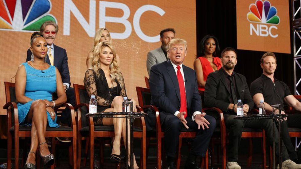 En 2004, Trump se convirtió en el productor ejecutivo y presentador del reality show The Apprentice. (Foto: REUTERS).
