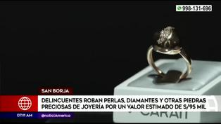 San Borja: roban joyas valorizadas en más de 95 mil soles de centro comercial