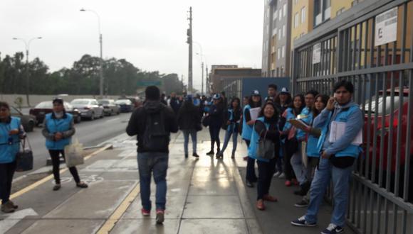 Empadronadores continuaron con el Censo 2017. (Amelí Hidalgo)