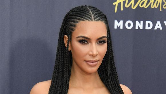 Kim Kardashian comparte foto en la que se nota el cambio que ha experimentado ella y sus hermanos. (AFP)
