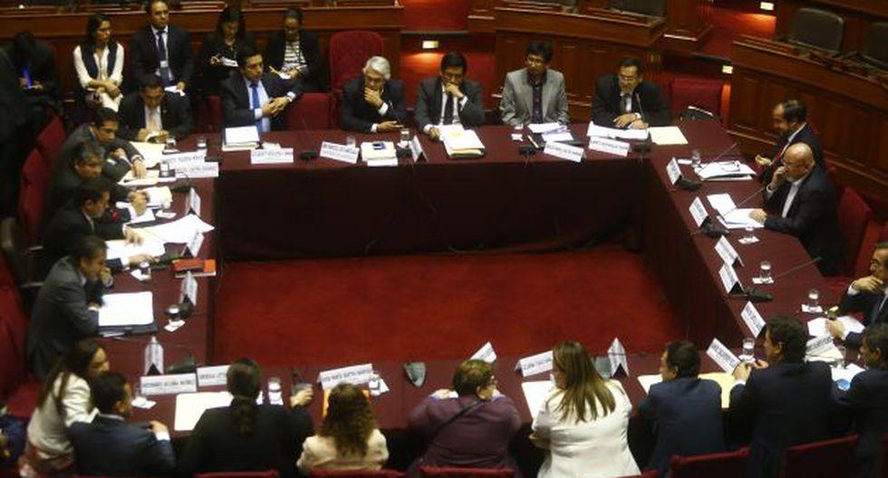 Comisión de Constitución del Congreso inició debate para crear Procuraduría General. (Luis Centurión)