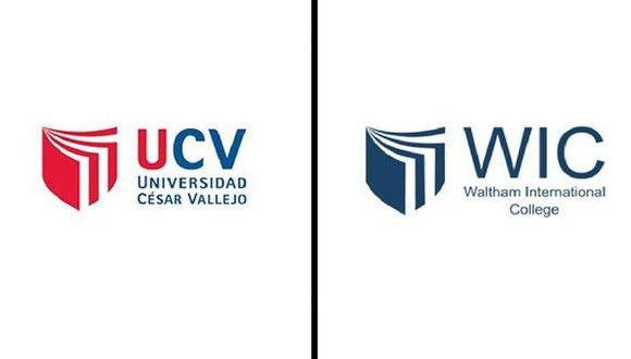 Universidad César Vallejo responde tras denuncia de copia de logo. (Difusión)