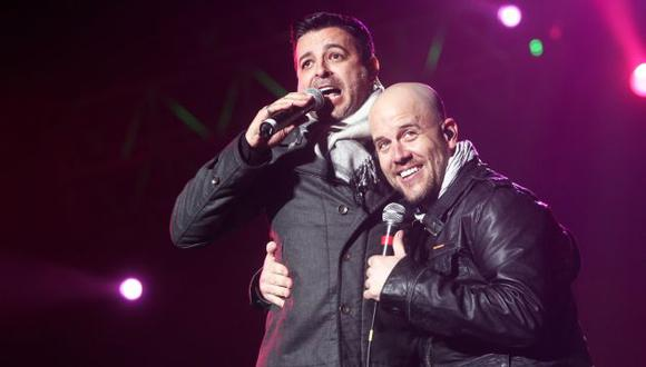 Luis Enrique y Gian Marco tienen una gran amistad. (USI)