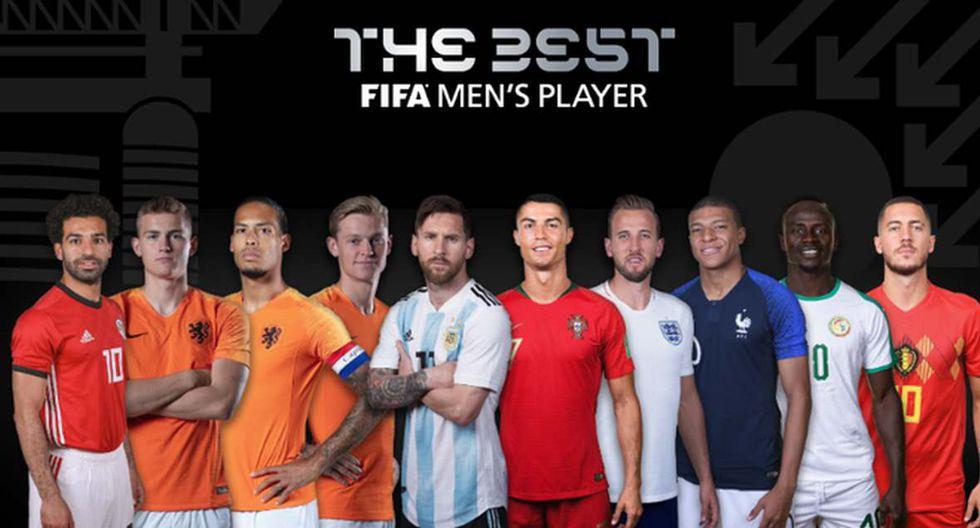 La FIFA publicó la lista de los jugadores que optan por el The Best. (Foto: FIFA)